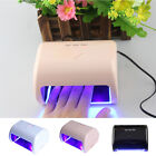 9W Professional LED Manicure Tool 3 High Power LED Phototherapy Nail Dryer Lamp