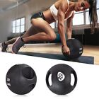 6/8/10/12/14/16/20 lbs Goplus Dual Grip Medicine Ball Fitness Weighted Workout image