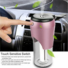 Car Air Humidifier Diffuser Ultrasonic Aroma Mist Purifier With Car Charger
