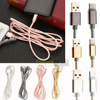 1M/2M/3M Type-C Micro USB 2A Fast Charging Data Sync Cable For Android Phones