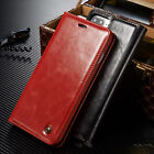 PU Leather Flip Cover Wallet Card Stand Magnetic Case For iphone 6 7Plus JR