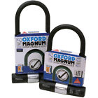 Oxford Magnum Bicycle Bike Cycle Gold Sold Secure Ultra Strong D U Shackle Lock