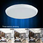 Dimmable LED Ceiling Down Light Panel Lamp 12W 24W Warm Cool White AC 90V-240V