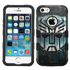 Transformer #Wood Hybrid Armor Case for iPhone SE/6S/7/Plus/Galaxy S7/S8/Plus