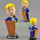 """7 styles 5"""" PVC Action Toy Figure Fallout 4 Gaming Heads Vault Boy Bobbleheads"""