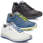 Ecco 2017 Mens Biom Hybrid 2 Durable Leather Spikeless Hydromax Golf Shoes