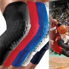 Basketball Crashproof Antislip Knee Leg Long Sleeve Protector Honeycomb Pad - S
