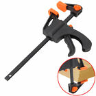 DIY Hand Wood Working Bar F Clamp Grip Ratchet Release Squeeze 4/6/8/10/12 Inch