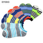 5Pair Mens Ankle Socks No Show Socks Invisible Low Cut Socks Boat Cotton Blend