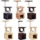 "36"" Prevent Scratch Post Cat Tree Pet House Play Toy Condo Furniture US STOCK"
