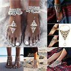 Women Sexy Crystal Anklet Ankle Bracelet Barefoot Sandal Beach Foot Jewelry hot