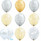 6 x Qualatex Hochzeit Latex Ballons - Just Married Helium Party Ballons