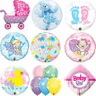 Qualatex BABY SHOWER - New BABY BOY/GIRL Latex & Foil Party Balloons - Welcome
