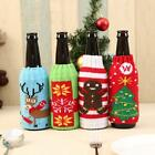 Christmas Knitting Wine Bottle Cover Christmas Table Decoration Ornaments - S