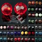 72/100/150pcs Crystal Beads Czech Rondelle Faceted Jewelry Findings 4/6/8mm EB