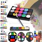 Face Body Paint Oil Painting Art Make Up Set Kit Halloween Party Fancy Dress