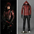 Green Arrow 3 Red Arrow Arsenal Roy Cosplay Costume Whole Set