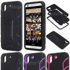 Hybrid Shockproof Armor Kickstand Protective Case Cover for HTC Desire 626/626s