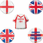 England - Union Jack - St. George's Cross Printed Qualatex Foil & Bubble Balloon