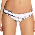 Freya Swimwear Castaway Hipster Frilled Bikini Brief/Bottoms Blush White 3836