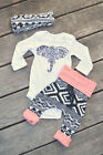 us-stock-newborn-baby-boy-girl-outfits-clothes-elephant-romper-pants-3pcs-set