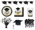 CAP & GOWN GRADUATION (Party Tableware, Banners, Balloons & Decorations)