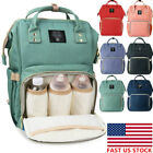 LAND Waterproof Mummy Bag Baby Maternity Diaper Nappy Large Changing Travel Bags