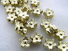 4x7mm 200/500/1000pcs GOLD COLOR ACRYLIC STAR BEAD AB84928
