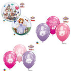 DISNEY SOFIA THE FIRST Qualatex Latex & Bubble Balloons (Kids Birthday/Party)