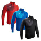Puma Mestre 1/4 Zip Performance Training Pullover Top 67% OFF RRP