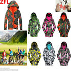Adults Children Camouflage Outdoor Hiking Coat Ski Snowsuit Warm Jacket Pizex