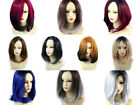 Wiwigs ® Wonderful Medium Bob Style Wigs Blonde Grey Blue Red Brown Ombre Hair
