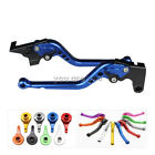 CNC Brake Clutch Levers For BMW Long Blue