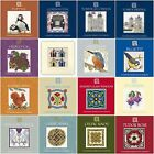 Textile Heritage Cross Stitch Card Kit - 16 designs to choose from.