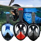 Swimming Diving Breath Full Face Masks Surface Snorkel Scuba Sport for GoPro S L