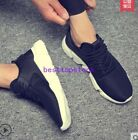 Mens Comfort Lace Up Casual Summer Sport Mesh Breathable Flats Shoes Running New