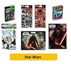 STAR WARS - Colouring Stickers Activity Books Pads Sheets Kids Party Xmas