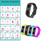 Chic X9 Blood Pressure Oxygen Heart Rate Fitness Smart Watch Bracelet Wrist Band