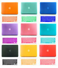 """Rubberized Hard Shell Case for Mac Macbook AIR/ Pro/ RETINA 13""""+ Keyboard Cover"""