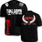 Take Down Fight Gear SFG Star Back MMA T-Shirt UFC Karate Boxing Gym free tapout