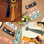 Cute Cat Kitten Wooden Ruler school Kids stationary Essentials Present Supplies