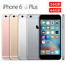 Apple iPhone  6 & 6 Plus 16/GB64GB Grey/Gold/Silver GSM 4G LTE Dual Core 8 MP