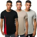 Fremont & Harris Mens T Shirt Short Sleeve Graphic Zip Panel Crew Neck Tee Top