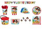 LITTLE PIRATES Birthday PARTY Range - Tableware Balloons Decorations Supplies