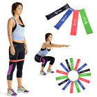 1/4PCS Resistance Bands Exercise Loop Strength Weight Training Fitness Sports