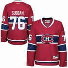 Reebok PK Subban Montreal Canadiens Womens Red Premier Jersey NHL