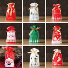 10-50X Gold Spot Christmas Tree Party Gift Drawstring Packing Stocking Bags