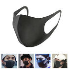 3Pcs Black Cycling Anti Dust Haze Sponge Mouth Face Mask Respirator Adult /Kid