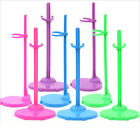 4 X For Barbie Dolls Toy Stand Support Mannequin Model Display Holder Creative