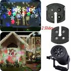 Outdoor Moving Snowflake LED Laser Light Projector Landscape Xmas Halloween Lamp